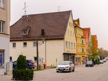 Architecture de Memmingen Photo libre de droits