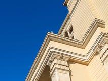 Architecture de Moscou - détail de vieil édifice photo libre de droits