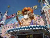 Architecture de parc d'attractions image libre de droits