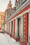 Architecture de parc de Tsaritsyno à Moscou Photo couleur Photos libres de droits