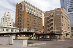 Architecture de Phoenix du centre, Arizona image stock
