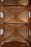 Architecture de plafond d'église Photographie stock libre de droits