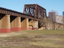 Architecture de pont en chemin de fer Photo libre de droits