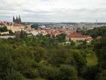Architecture de Prague Photo libre de droits