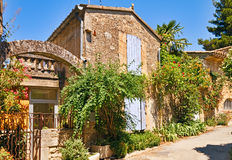 Architecture de Provencal Photos stock