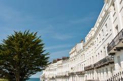Architecture de régence, Brighton photo stock
