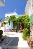 Architecture de Rhodos Grèce Image libre de droits