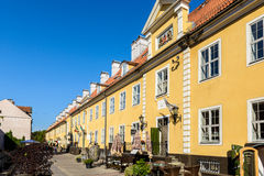 Architecture de Riga, Lettonie Photographie stock libre de droits