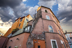 Architecture de Rome Image libre de droits