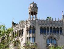 Architecture de rue de Gracia Photos stock