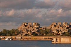 Architecture de Safdie Image libre de droits