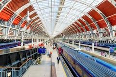 Architecture de station de Paddington photo libre de droits