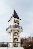 Architecture de style ancien avec le ciel sur le fond Photographie stock libre de droits