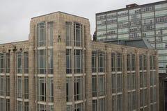 Architecture de style d'Art Deco à Glasgow photographie stock libre de droits