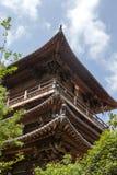 Architecture de temple Images libres de droits