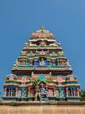 Architecture de temple d'Annamalaiyar dans Tiruvannamalai, Inde images stock