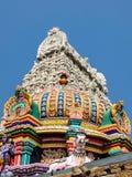 Architecture de temple d'Annamalaiyar dans Tiruvannamalai, Inde photographie stock
