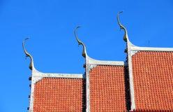 Architecture de temple thaïlandais Image libre de droits