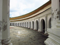 Architecture de temple thaïlandais sur extérieur Image stock