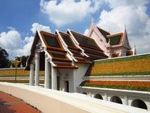Architecture de temple thaïlandais sur extérieur Photos stock