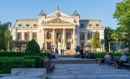 Architecture de théâtre national chez Iasi Photographie stock
