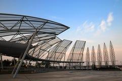 Architecture de trame en acier Photo libre de droits