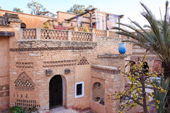 Architecture de village de la Médina, Maroc Photos stock