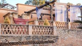 Architecture de village de la Médina, Maroc Photographie stock libre de droits