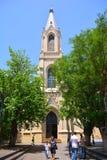 Architecture de ville de Bakou Image stock