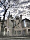 Architecture de ville de Lvov Photo stock
