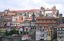 Architecture de ville de Porto images stock