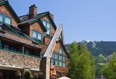 Architecture de Whistler images stock