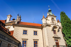 Architecture deatiails of Pruhonice castle Royalty Free Stock Images