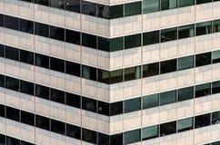 Architecture des bâtiments modernes urbains Images libres de droits
