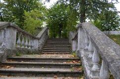 Architecture des escaliers Photos stock