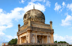 Architecture des tombes de Hyderabad Images stock