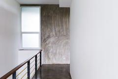 Architecture design of house, passageway cement floor Stock Images