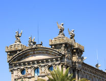 Architecture detail. At Barcelona Port Spain Stock Image
