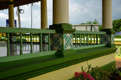 Architecture detail of Air Barok Mosque at Jasin Malacca, Malaysia Stock Image