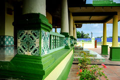 Architecture detail of Air Barok Mosque at Jasin Malacca, Malaysia Stock Photography