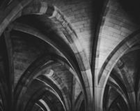 University Cloister Arches royalty free stock photo