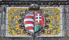 Architecture detail Budapest Royalty Free Stock Photography