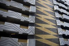 Architecture detail of building in Australia. Detail of Modern Building in Victoria, Australia Stock Image