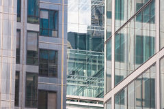 Architecture detail of Canary Wharf. Stock Photography