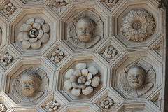 Architecture detail, Castel Nuovo, Naples Italy royalty free stock images