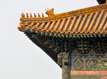 Architecture detail of chinese traditional building Stock Photos