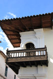 Architecture detail in Cusco, Peru Royalty Free Stock Photos