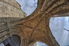 Architecture Detail of Erice in Sicily Stock Images