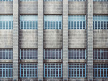 Architecture detail Exterior Facade Background. Architecture detail Exterior Facade Void pattern Background Stock Images