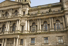 Architecture detail of Glasgow City Chambers Royalty Free Stock Photo